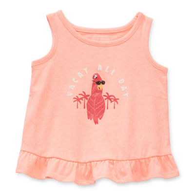 Okie Dokie Baby Girls Tank Top