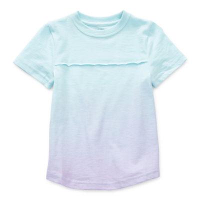 Okie Dokie Little Boys Crew Neck Short Sleeve T-Shirt