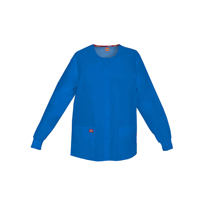 Dickies Womens Snap-Front Scrub Jacket plus size,  plus size fashion plus size appare