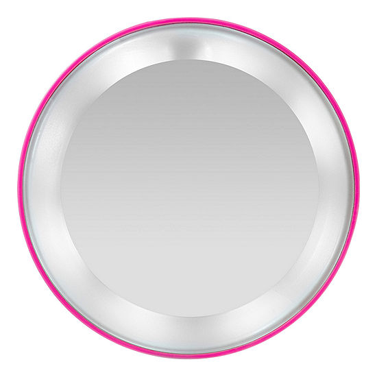 Tweezerman Pink Perfection 15X Lighted Magnifying Mirror