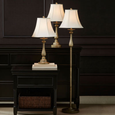 JCPenney Home™ Set Of 3 Hennessey Floor U0026 Table Lamps