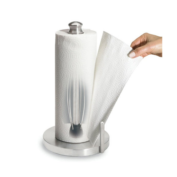 Perfect Tear Stainless Steel Paper Towel Holder