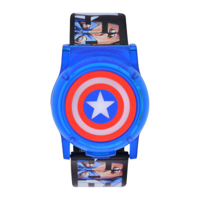 Avengers Boys Multicolor Strap Watch-Cta4115jc