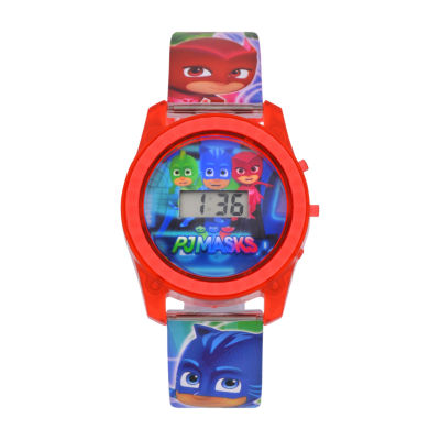PJ Masks Boys Multicolor Strap Watch-Pjm4027jc