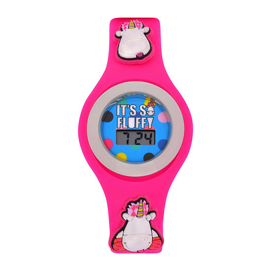 Universal Despicable Me Girls Pink Strap Watch Dsm4016jc