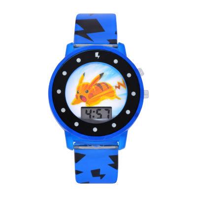 Boys Multicolor Strap Watch-Pok4054jc