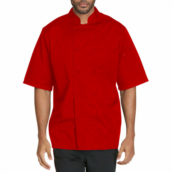Dickies Unisex Short Sleeve Chef Coat