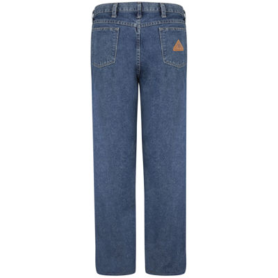 Bulwark® PEJ6 Mens Stone-Washed Loose-Fit Jeans - Big