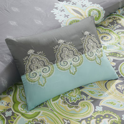 Intelligent Design Jade 5 Piece Comforter Set