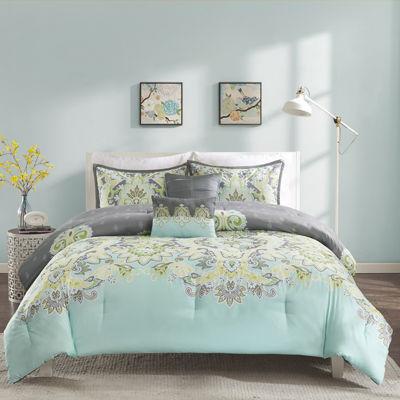 Intelligent Design Jade Comforter Set