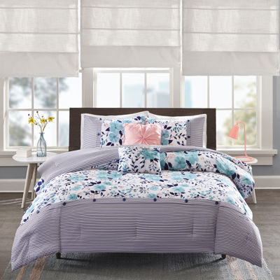 Intelligent Design Tiffany Floral Comforter Set