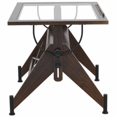 Aires Glass Top Standing Desk