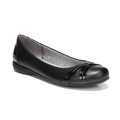 Lifestride Aliza Womens Ballet Flats-Wide Slip-on Round Toe