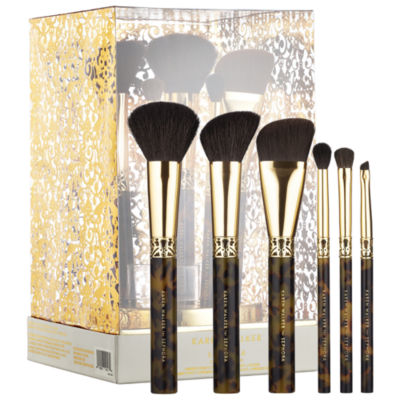 SEPHORA COLLECTION KAREN WALKER Amber Craft: Beauty Brush Set + Stand