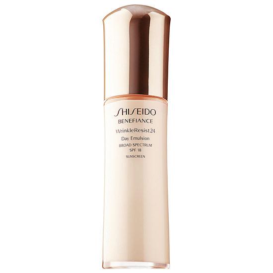 Shiseido Benefiance Wrinkleresist24 Day Emulsion Broad Spectrum Spf 18