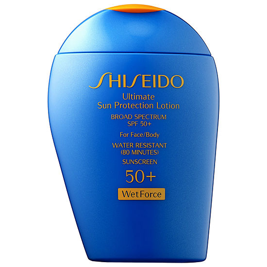 SHISEIDO Wetforce Ultimate Sun Protection Lotion Broad Spectrum SPF 50+ for Face/Body