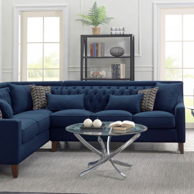 Aberdeen Linen Left Sectional Sofa