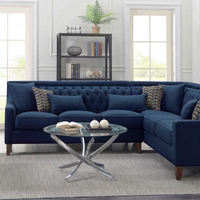 Aberdeen Linen Right Sectional Sofa