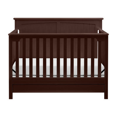 Storkcraft Davenport 5-in-1 Convertible Crib-Espresso