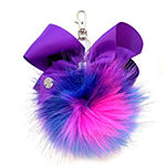 JoJo Siwa Signature Long Hair Pom Keychain