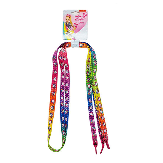 JoJo Siwa Signature Rainbow Unicorn Shoelaces