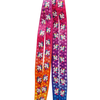 JoJo Siwa Signature Rainbow Unicorn Shoelaces