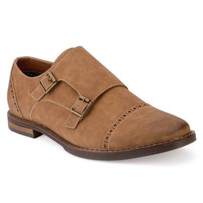 X-Ray Mens Kraftig Oxford Shoes Buckle
