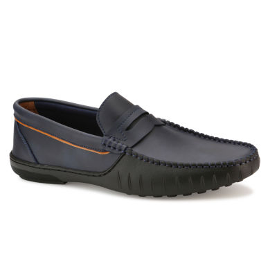 X-Ray Mens Colima Round Toe Slip-on Loafers
