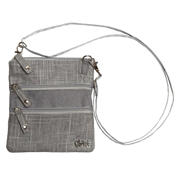 Glove It 3-Zip Crossbody Bag