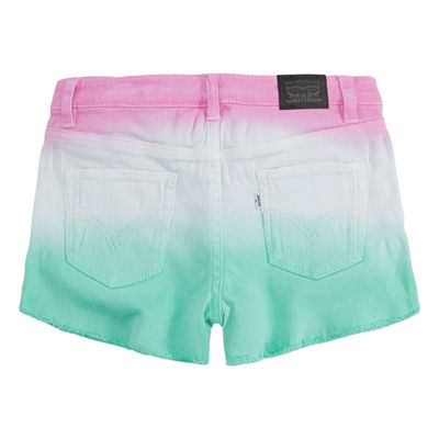 Levi's Twill Shortie Shorts - Preschool Girls