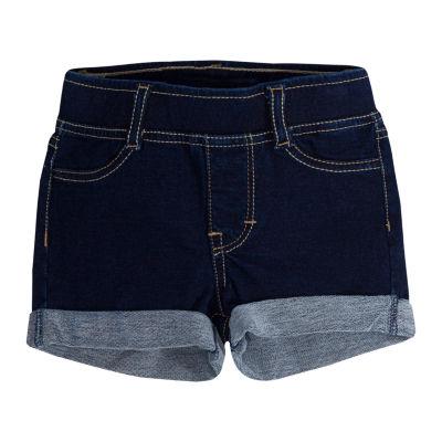 Levi's Knit At Waist Shortie Shorts - Preschool Girls