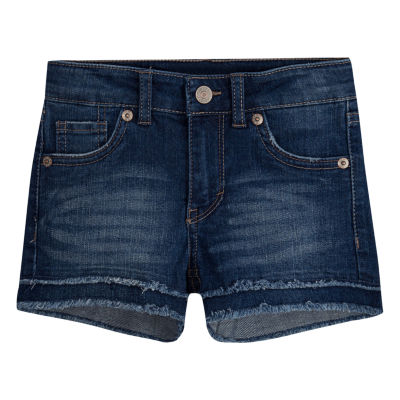 Levi's Denim Shortie Shorts - Preschool Girls