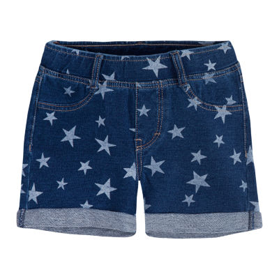Levi's Knit At Waist Shortie Shorts - Preschool Girls