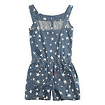 Levi's Girls Sleeveless Romper - Preschool