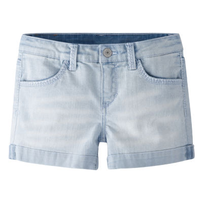 Levi's Ultra Light Thick Stitch Shortie Shorts - Big Kid Girls Plus