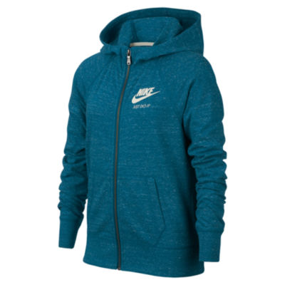 Nike Gym Vintage Full Zip Hoodie - Girls 7-16