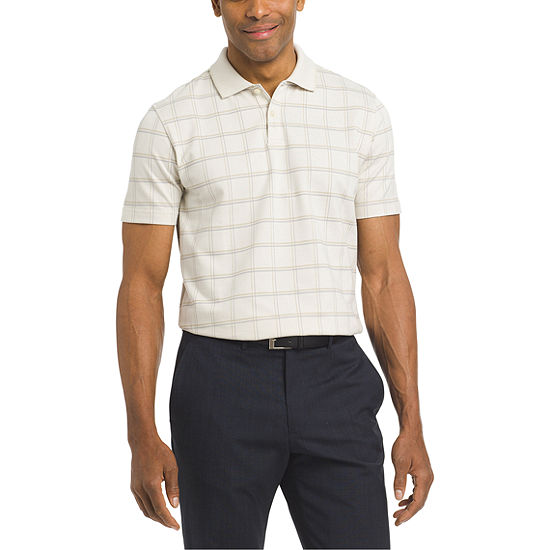 Van Heusen Mens Short Sleeve Polo Shirt