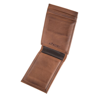 JF J.Ferrar Mens Front Pocket Wallet