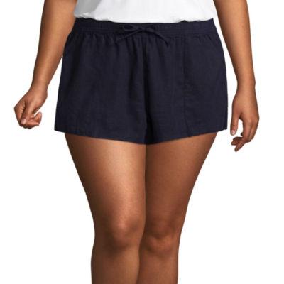 Arizona Soft Shorts-Juniors Plus