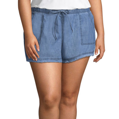 Arizona Soft Shorts-Juniors Plus