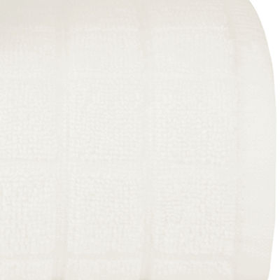 Briarwood Home Dobby Check Double 6 Piece Towel Set
