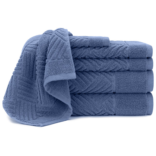Briarwood Home Jacquard Bars 6 Piece Towel Set
