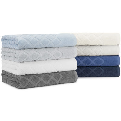 Briarwood Home Diamond Jacquard 6 Piece Towel Set