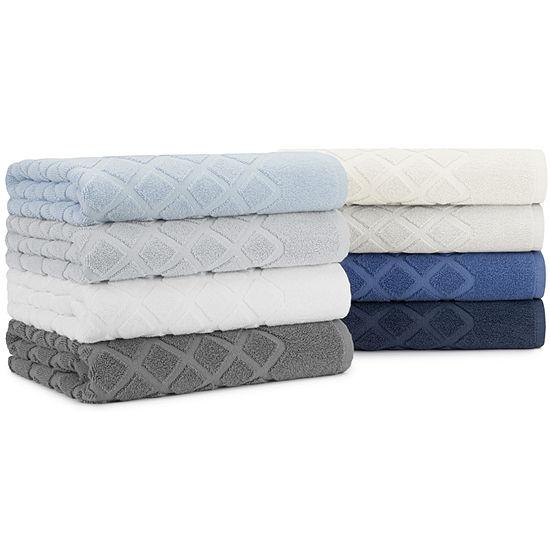 Briarwood Home Diamond Jacquard 6 Piece Towel Set