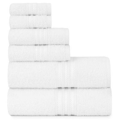 Briarwood Home Luxury Soft Ring Spun 6 Piece Towel Set