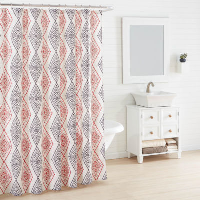 Azalea Skye Cusco Rhombus Shower Curtain