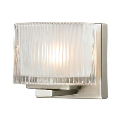 Chiseled Glass 1 Light Vanity