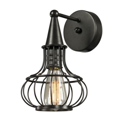 Yardley 1 Light Wall Sconce In Oil Rubbed Bronze