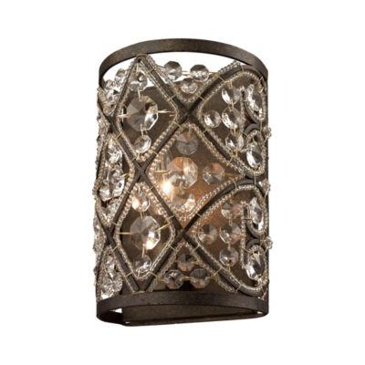 Amherst 1 Light Vanity In Antique Bronze
