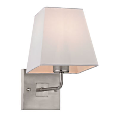 Beverly 1 Light Wall Sconce In Brushed Nickel